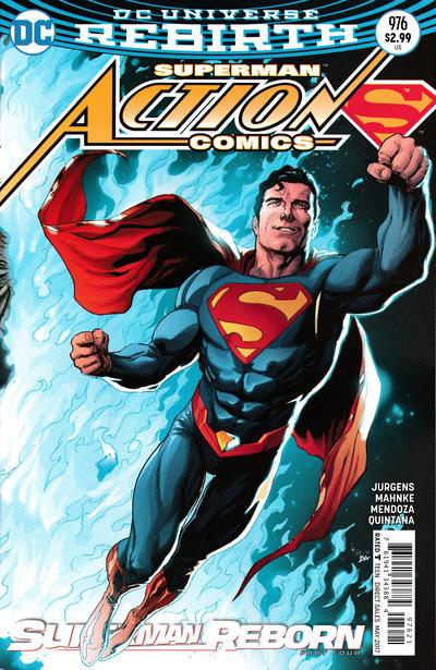 Cover for Action Comics (DC, 2011 series) #976