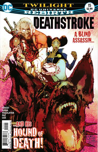 Cover for Deathstroke (DC, 2016 series) #15 [Shane Davis Cover Variant]