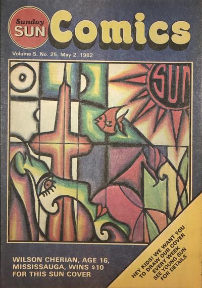 Cover for Sunday Sun Comics (Toronto Sun, 1977 series) #v5#25