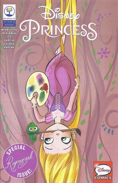 Cover for Disney Princess (Joe Books, 2016 series) #9