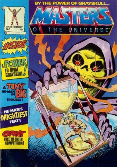 Cover for Masters of the Universe (Egmont UK, 1986 series) #5