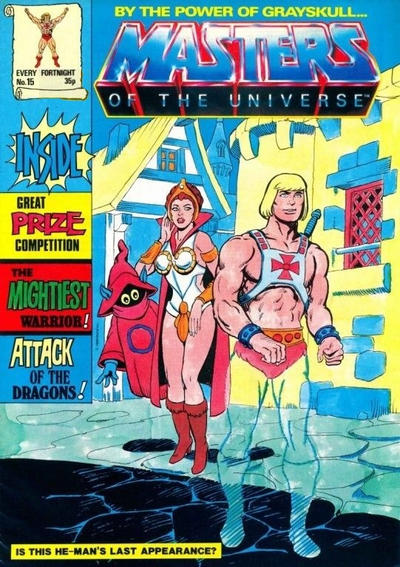 Cover for Masters of the Universe (Egmont UK, 1986 series) #15