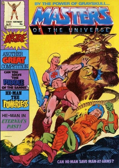 Cover for Masters of the Universe (Egmont UK, 1986 series) #8