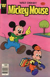 Cover for Mickey Mouse (Western, 1962 series) #204 [Whitman]