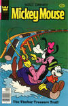Cover for Mickey Mouse (Western, 1962 series) #199 [Whitman]