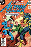 Cover for Action Comics (DC, 1938 series) #538 [Direct]