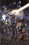 Cover for Unity (Valiant Entertainment, 2013 series) #1 [Cover U - 3-D Motion - Clayton Crain]
