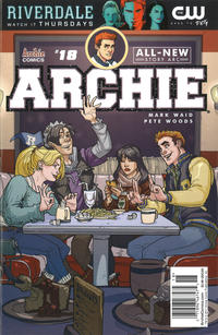 Cover Thumbnail for Archie (Archie, 2015 series) #18 [Cover A - Pete Woods Newsstand Variant]