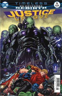 Cover Thumbnail for Justice League (DC, 2016 series) #16 [Newsstand]