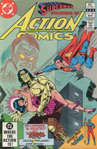 Cover Thumbnail for Action Comics (DC, 1938 series) #531 [Direct]