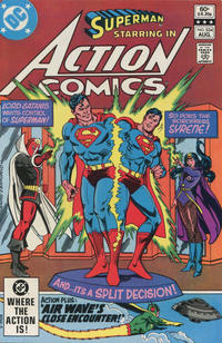 Cover Thumbnail for Action Comics (DC, 1938 series) #534 [Direct Sales]