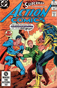 Cover Thumbnail for Action Comics (DC, 1938 series) #538 [Direct]