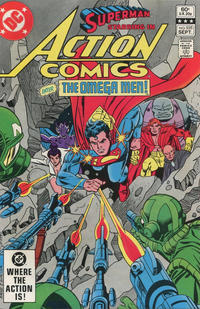 Cover Thumbnail for Action Comics (DC, 1938 series) #535 [Direct]