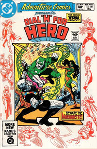 Cover Thumbnail for Adventure Comics (DC, 1938 series) #489 [Direct Sales]