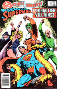Cover Thumbnail for DC Comics Presents (DC, 1978 series) #78 [Newsstand]