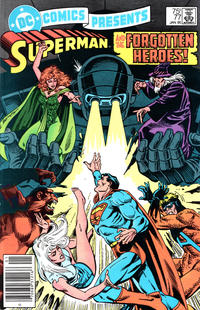 Cover Thumbnail for DC Comics Presents (DC, 1978 series) #77 [Newsstand Variant]