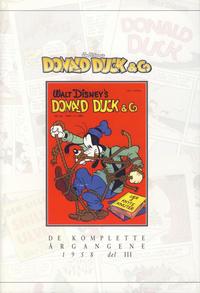 Cover Thumbnail for Donald Duck & Co De komplette årgangene (Hjemmet / Egmont, 1998 series) #[26] - 1958 del 3