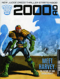 Cover Thumbnail for 2000 AD (Rebellion, 2001 series) #2024