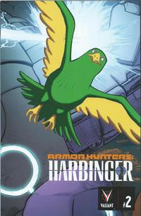 Cover Thumbnail for Armor Hunters: Harbinger (Valiant Entertainment, 2014 series) #2 [Cover C - Interlocking Mega Cover]