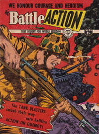 Cover Thumbnail for Battle Action (Horwitz, 1954 ? series) #65