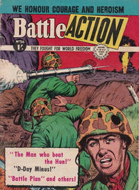 Cover Thumbnail for Battle Action (Horwitz, 1954 ? series) #56