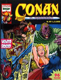 Cover Thumbnail for Conan il barbaro (Comic Art, 1989 series) #49