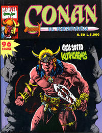 Cover Thumbnail for Conan il barbaro (Comic Art, 1989 series) #50