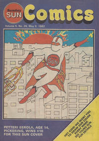 Cover Thumbnail for Sunday Sun Comics (Toronto Sun, 1977 series) #v5#26
