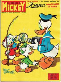 Cover Thumbnail for Le Journal de Mickey (Hachette, 1952 series) #691