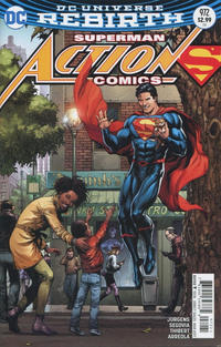 Cover Thumbnail for Action Comics (DC, 2011 series) #972 [Gary Frank Cover]
