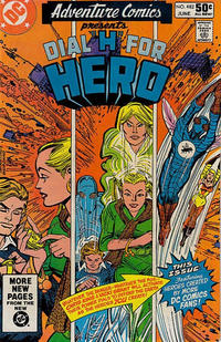 Cover Thumbnail for Adventure Comics (DC, 1938 series) #482 [Direct Sales]
