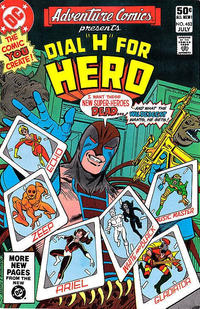 Cover Thumbnail for Adventure Comics (DC, 1938 series) #483 [Direct Sales]
