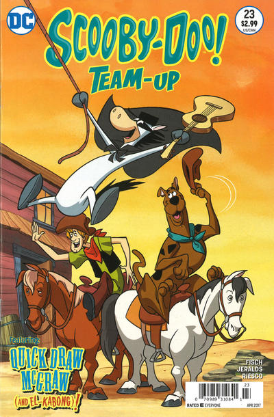 Cover for Scooby-Doo Team-Up (DC, 2014 series) #23 [Direct Sales]