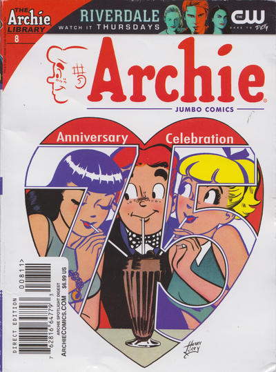 Cover for Archie Spotlight Digest: Archie 75th Anniversary Digest (Archie, 2016 series) #8