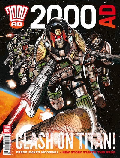 Cover for 2000 AD (Rebellion, 2001 series) #1862