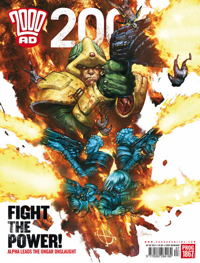 Cover for 2000 AD (Rebellion, 2001 series) #1867