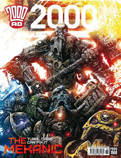 Cover for 2000 AD (Rebellion, 2001 series) #1868