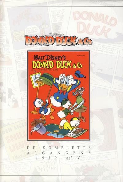 Cover for Donald Duck & Co De komplette årgangene (Hjemmet / Egmont, 1998 series) #[34] - 1959 del VI