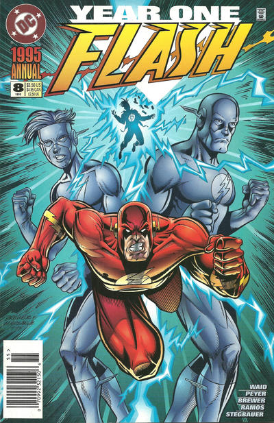 Cover for Flash Annual (DC, 1987 series) #8 [Direct Sales]