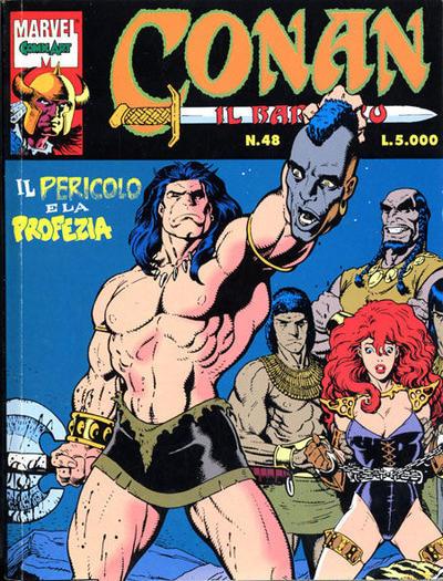 Cover for Conan il barbaro (Comic Art, 1989 series) #48