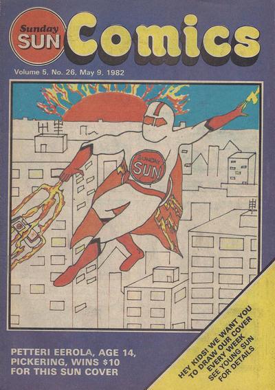 Cover for Sunday Sun Comics (Toronto Sun, 1977 series) #v5#26