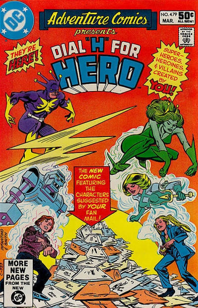Cover for Adventure Comics (DC, 1938 series) #479 [Direct Sales]