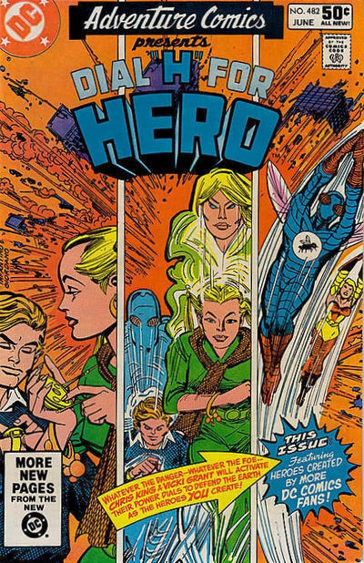 Cover for Adventure Comics (DC, 1938 series) #482 [Direct Sales]