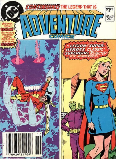 Cover for Adventure Comics (DC, 1938 series) #492 [Direct Sales]