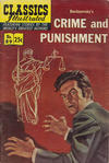 Cover for Classics Illustrated (Gilberton, 1947 series) #89 [HRN 169] - Crime and Punishment [25 cent cover]