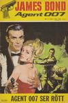 Cover for James Bond (Semic, 1965 series) #1/1966