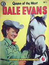 Cover for Dale Evans Queen of the West (World Distributors, 1955 series) #1