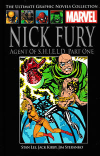 Cover Thumbnail for The Ultimate Graphic Novels Collection - Classic (Hachette Partworks, 2014 series) #8 - Nick Fury: Agent of S.H.I.E.L.D. (Part 1)