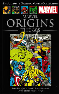 Cover Thumbnail for The Ultimate Graphic Novels Collection - Classic (Hachette Partworks, 2014 series) #1 - Marvel Origins: The 60s