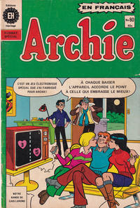 Cover Thumbnail for Archie (Editions Héritage, 1971 series) #80
